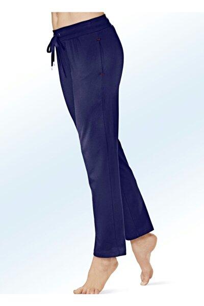 Kadın Cepli Düz Paça Pantolon Takım 2'li