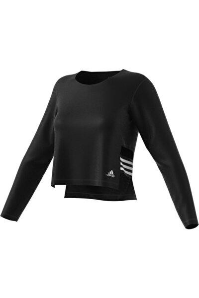 Kadın Siyah Layerıng Ls Spor Sweatshirt