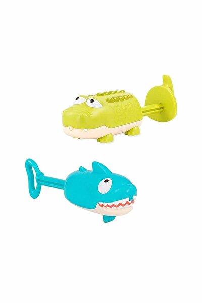 B. Eğlenceli Su Tabancası Timsah Ve Köpek Balığı