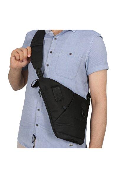 Göğüs Ve Sırt Çantası Body Bag Çanta Gk11 Siyah