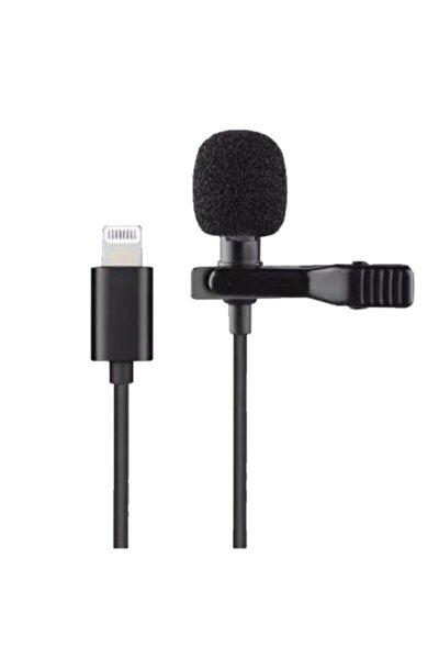 Iphone Lightning Profesyonel Youtuber Ve Twitch Yaka Mikrofonu / Jh041 Lavalier Mic