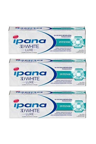 3d White Luxe Intense Diş Macunu 75ml 3 Adet