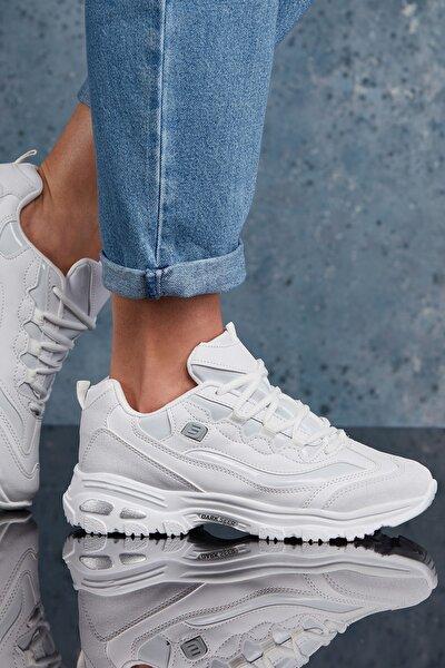 Beyaz Kadın Sneaker DS.MJ1901