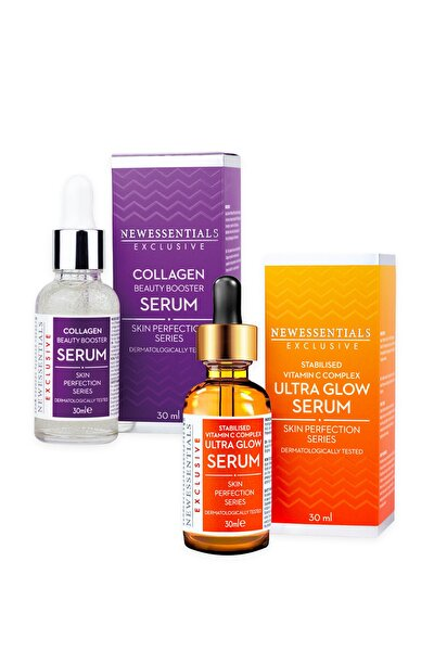 C Vitamini + Kolajen Serum 2'li Set
