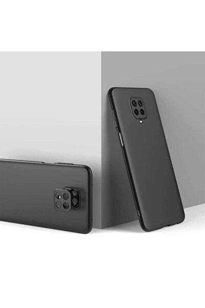 Redmi Note 9 Pro Sert Silikon Kapak Siyah