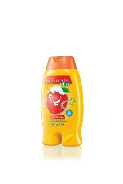 Natural Kids Elma Kokulu Şampuan ve Saç Kremi - 250ml