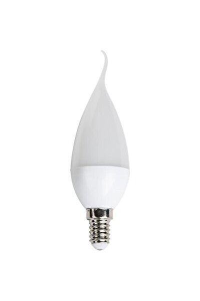 Cata 6'lı 5 Watt Ince Kıvrık E14 Duy Mum Buji Led Ampu L(beyaz)