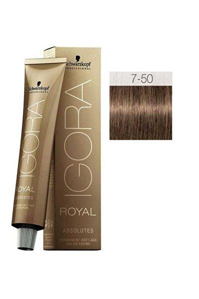 Saç Boyası Royal Absolutes 7-50 Kumral Doğal Altın 4045787282498