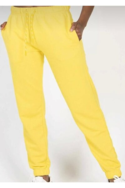 Kadın Sarı Eşofman Altı