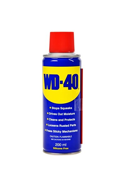 Wd 40 200 ml Genel Amaçlı Yağlama Ve Pas Sökücü Sprey Pipetli