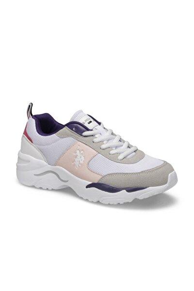 Kadın Beyaz Tony Sneaker Ayakkabı