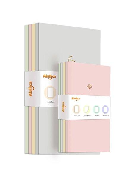8'li Defter Set Soft Pastel Notebook