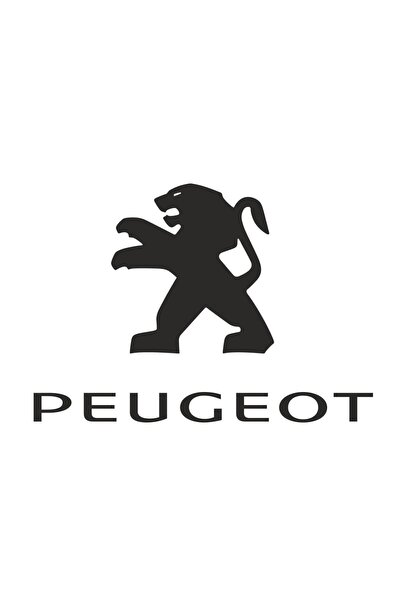Peugeot Logo Sticker 00604 16x11 Cm