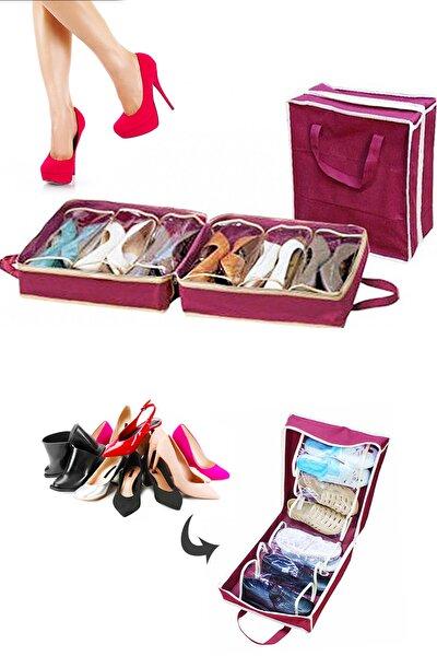 Ayakkabı Saklama ve Taşıma Hurcu Shoe Tote