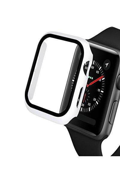 Apple Watch 40mm Tpu Çerçeveli Ekran Koruyuculu Ön Çerçeve Kılıf Hediyeli