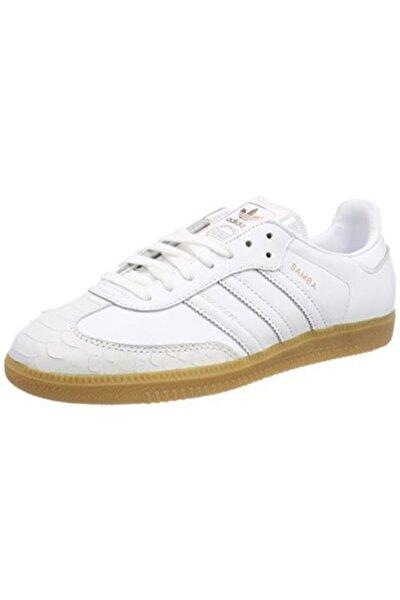 Kadın Beyaz Samba Günlük Spor Ayakkabı ( Cq2640 )