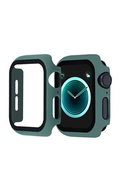 Koyu Yeşil  Watch Seri 2/3/4/5/6 44mm Kasa Ve Ekran Koruyucu