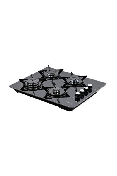 LX-40TSHDF Siyah Cam Set Üstü - Ankastre Doğalgazlı Ocak