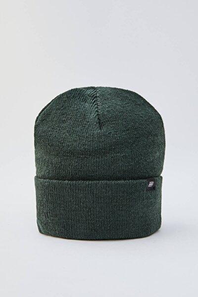 Erkek Yeşil Basic Bere 09835501