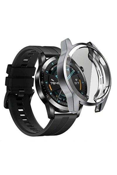 Huawei Watch Gt 2 46mm 360 Full Koruma Ultra Ince Fit Silikon Kılıf