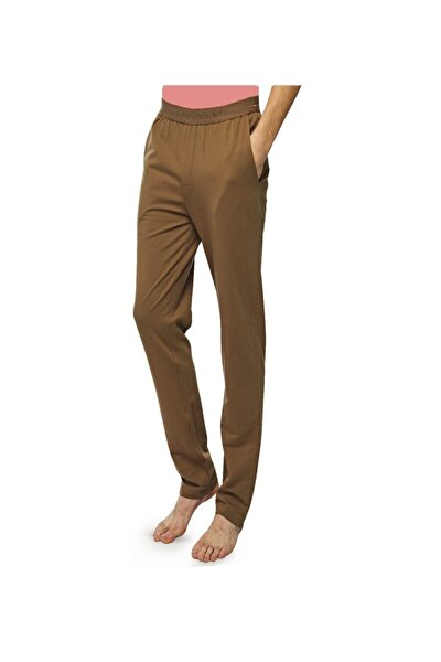 Erkek Kahverengi Pijama Altı