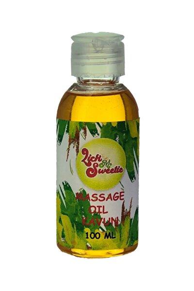 Kavun Aromalı Yenilebilir Erotik Masaj Yağı ve Kayganlaştırıcı Jel 100 ml