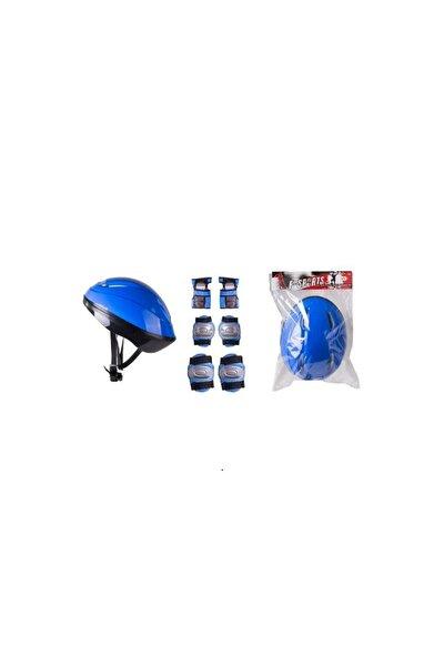 Paten Koruyucu Set Dizlik Dirseklik Kasklı Set Bisiklet Koruyucu Set Scooter Koruyucu Set