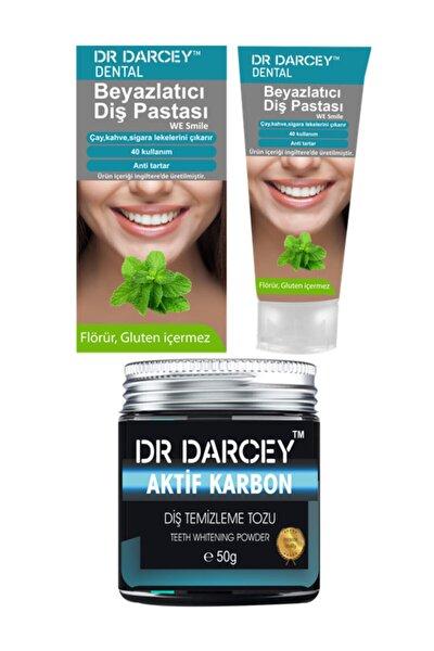 Beyazlatıcı Diş Pastası 20 g + Aktif Karbon Diş Temizleme Tozu 50 g 8681756311446