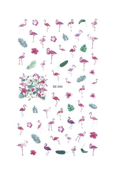 Flamingo Tırnak Sticker