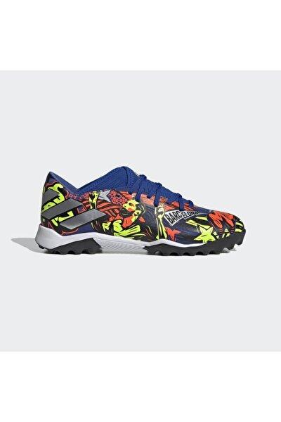 Erkek Mavi Nemeziz Messi 19.3 Halı Saha Ayakkabısı