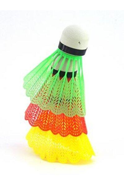 3 Adet Renkli Badminton Topu