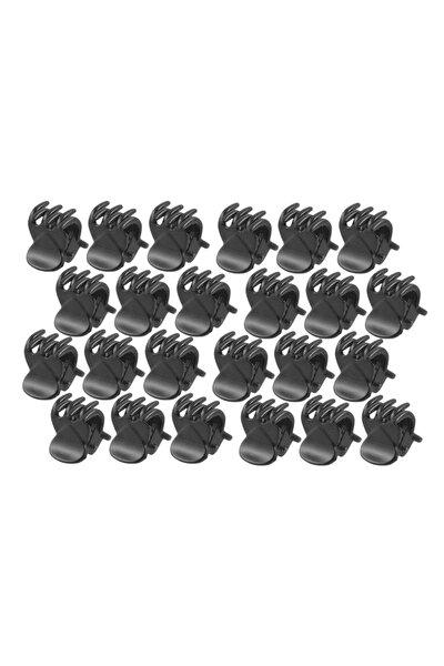 Mini Mandal Toka Siyah Renk 20 Adet 1,2 Cm