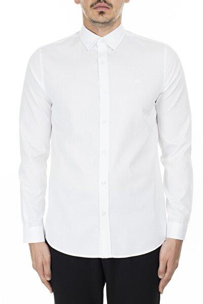 Erkek Beyaz Slim Fit Gömlek Ch2139 39a