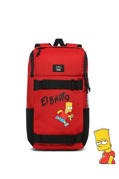 Unisex The Simpsons X Obstacle Skatepack Sırt Çantası Vn0a3ı6917a1