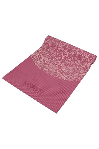 LS3231C 6mm PVC Yoga Mat Fuşya