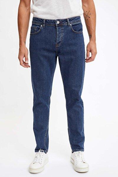 Erkek Koyu Lacivert Kot Regular Fit Jean Pantolon S5470AZ20AU