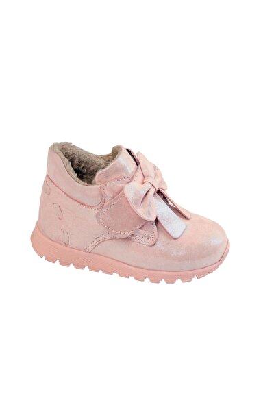 Kız Bebek Pembe Ortopedik Ayakkabı Bot Bdrk 701