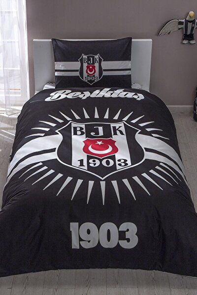 Lisanslı Nevresim Tek Kişilik Beşiktaş Parlayan Güneş