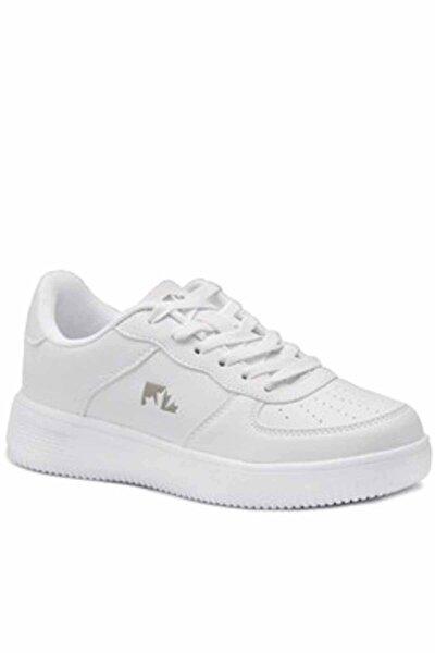 Beyaz Kadın Yürüyüş Ayakkabısı
