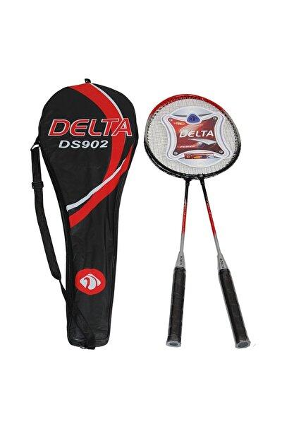 2 Adet Badminton Raketi Çantalı Çiftli Badminton Seti