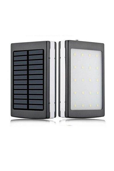 18000 Mah 20 Ledli Solar Taşınabilir Powerbank Şarj Aleti