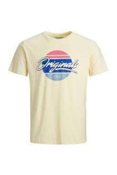 Erkek Siyah Yazı Baskılı Kısa Kollu T-shirt