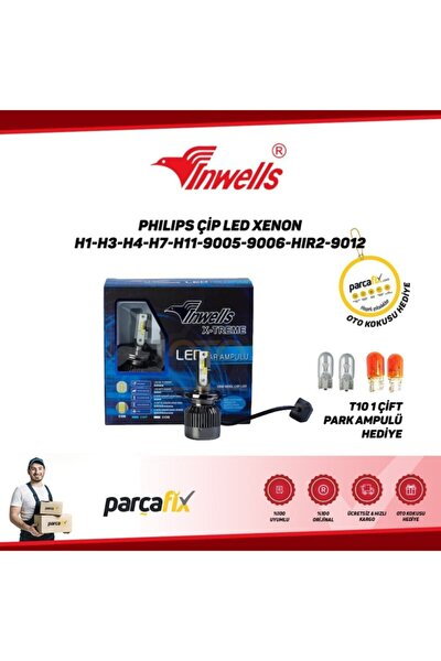 Philips Çip Led Xenon H3