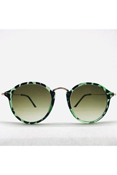 Yeşil Leo Unısex Güneş Gözlüğü