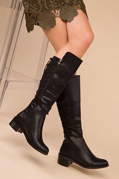 Siyah Kadın Çizme 15263