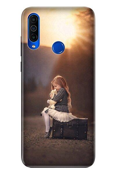 Meizu M10 Kılıf Yalnız Çocuk Temalı Resimli Silikon Telefon Kapak -