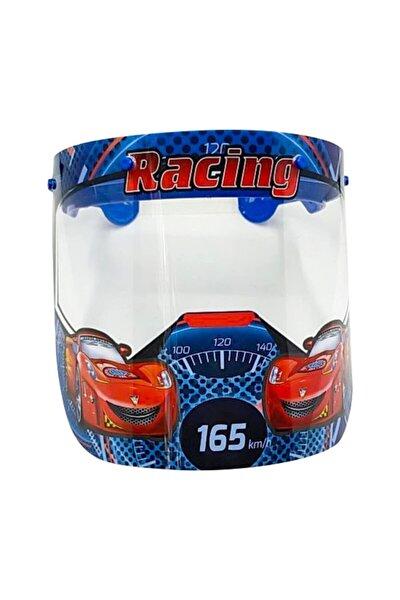 Racing Erkek Çocuk Yüz Siperlik Koruma