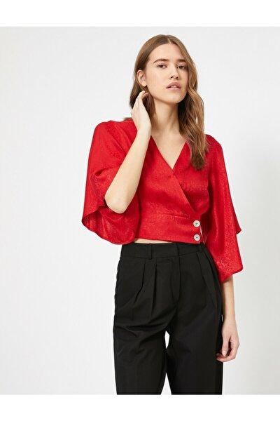 Kadın Kırmızı Bluz 0KAF60007OW