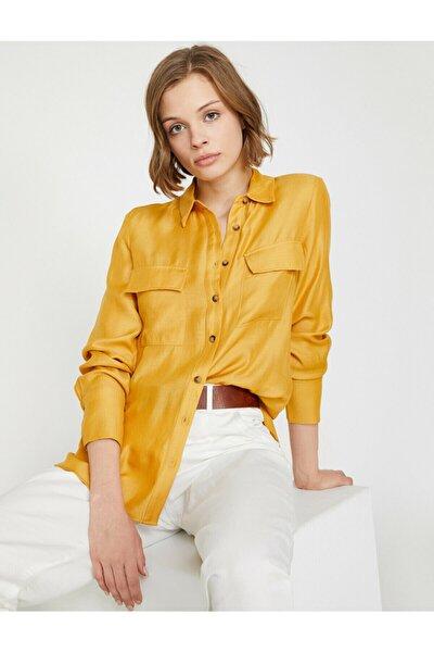 Kadın Sarı Gömlek 0KAK68005PW