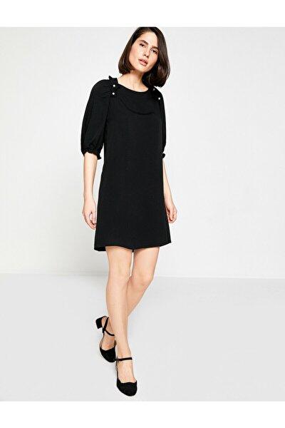 Kadın Firfir Detayli Elbise